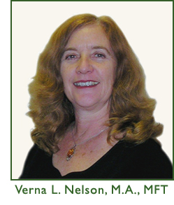 Verna L. Nelson, M.A, MFT - Licensed Marriage and Family Therapist